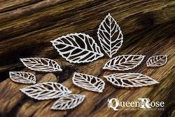 Chipboard - Queen Rose – Openwork Leaves