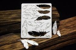 Chipboard - Mandalas Dreams – Feathers