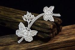 chipboard - Mandalas Dreams – Butterflies with flowers ...