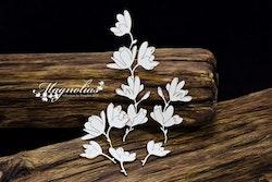 Chipboard - Magnolias -Twigs of Flowers