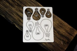 Chipboard - Industrial Factory – Bulbs set