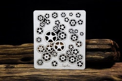 Chipboard - Industrial Factory – Cogs background