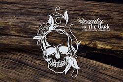 Beauty in the Dark – Ornamental Skull