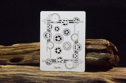 Chipboard - Industrial Factory - Corner decors with cogs
