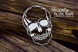 Chipboard - Beauty in the Dark - Small Skull