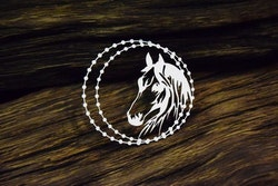 Chipboard - Amazone's Dream – Framed horse – Small