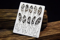 Chipboard - Mandalas Dreams – Mini feathers