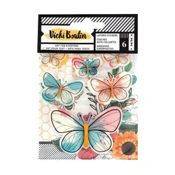Vicky Boutin Wildflower & Honey sticker layered ...