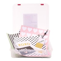 Storage box scrapbook paper - Vaessen Creative