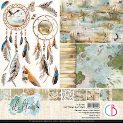 Ciao Bella - Delta 12 x12 patterpaperset