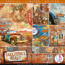 Ciao Bella - Collateral Rust 12 x 12 paperset