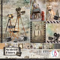 Ciao Bella - Modern Times 12 x 12 paperset