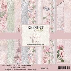 La Vie en Rose Collection pack 8 x 8