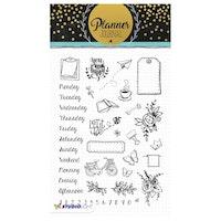 Studio Light - Clear Stamp A5 Planner Journal Nr.05