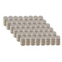20 Magnets Ø8mmx1mm Ni35 Superstrong