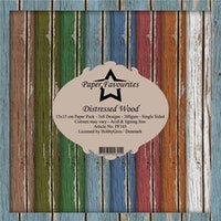 """Paper Favourites Paper Pack 6x6 - """"Distressed Wood"""""""