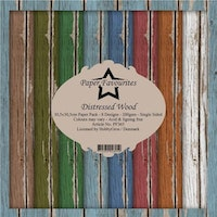 """Paper Favourites Paper Pack 12x12 """"Distressed Wood"""""""