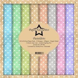 """Paper Favourites Paper Pack 12x12 """"Pastel Dots"""""""