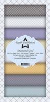 "Paper Favourites Slim Card ""Diamond Grid"""