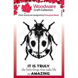 """Woodware Clearstamp """"Little Ladybird"""""""
