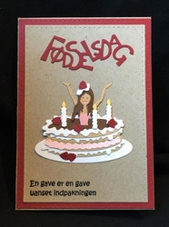 BY LENE DIES  - Birthday Cake