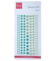"""Enamel Dots  """"Two Mint"""""""
