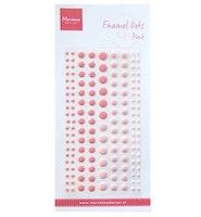 """Enamel Dots """"Two Pink"""""""