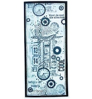 Marianne Design Clearstamp Art Stamps - Airplane