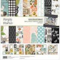 Simple Stories Collection Kit 12X12 - SV Farmhouse Garden