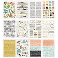 Simple Stories Sticker Book - SV Farmhouse Garden