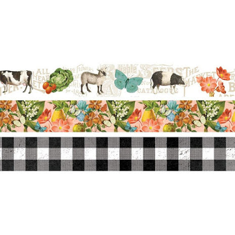Simple Stories Washi Tape 3/Pkg - SV Farmhouse Garden