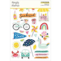Simple Stories Sticker Book - Sunkissed