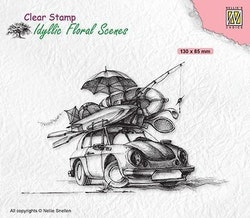 """NS Clearstamp - """"Summer vacation"""""""