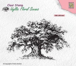 """NS Clearstamp  - """"Old Tree"""""""