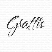 "Stämpel ""Grattis"""