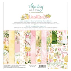 Mintay Papers 12 X 12 PAPER SET - VACATION