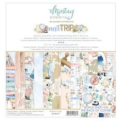 Mintays Papers 12 X 12 PAPER SET - NEXT TRIP
