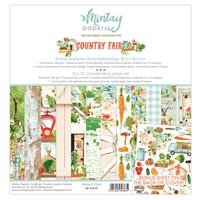 Mintay Paprs 12 X 12 PAPER SET - COUNTRY FAIR