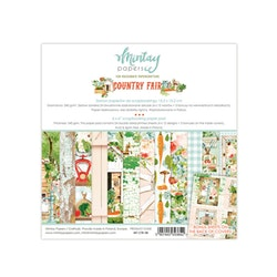 Mintay Papers 6 X 6 PAPER PAD - COUNTRY FAIR