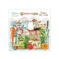 Mintay Papers PAPER DIE-CUTS - COUNTRY FAIR, 47 PCS