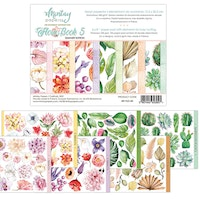 Mintay 6 X 8 FLORA BOOK 5 - ELEMENTS FOR PRECISE CUTTING
