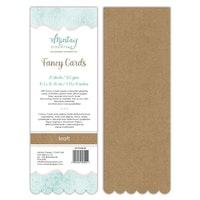 FANCY CARDS - KRAFT 02, 20 SHEETS