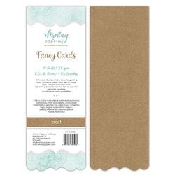 FANCY CARDS - KRAFT 03, 20 SHEETS