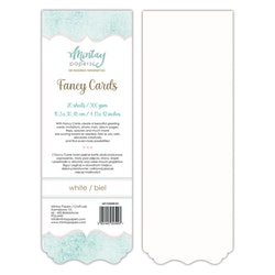 FANCY CARDS - WHITE 01, 20 SHEETS