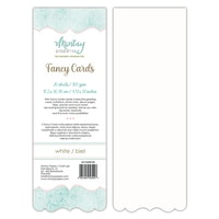 FANCY CARDS - WHITE 03, 20 SHEETS