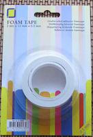 Dubbelhäftande foam tape 1 mm