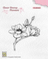 """NS Clearstamp """"Magnolia?"""