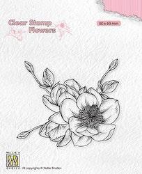 "Clearstamp ""Magnolia Flower?"