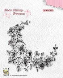 """Clearstamp """"Blossom Corner?"""