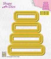 "NS SHAPE DIES ""Set of 4 tags - 3"""